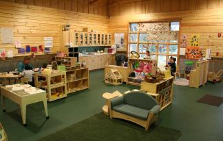 The preschool at Aullwood Nature Center & Farm in Dayton, Ohio, is housed in the farm education building but operated by Head Start, an unusual business model that allows each partner to do what it does best.
