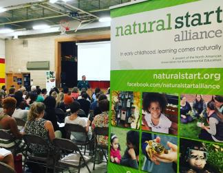 Plenary sessions were held at the neighboring Garlough Environmental Magnet School