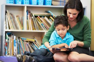 """Preschools can help close the """"word gap"""" between higher- and lower-income children."""